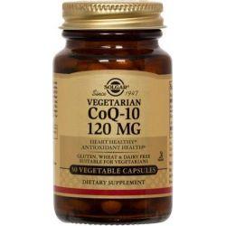 CoQ10 Vegetariano 120mg - 30 cápsulas vegetales [Solgar]