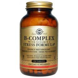 Complejo B con Vitmanina C - 250 tabletas [Solgar]