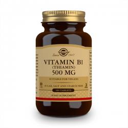 Vitamina B1 500mg - 100 Tabletas