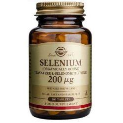 Selenio 200mcg - 100 Tabletas