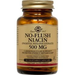 No flush niacin 500mg - 50 vcaps