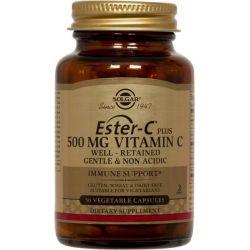 Ester-C con vitamina C 500mg - 50 Cápsulas Vegetales