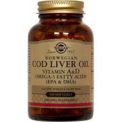 Aceite de Hígado de Bacalao Noruego - 100 Softgels