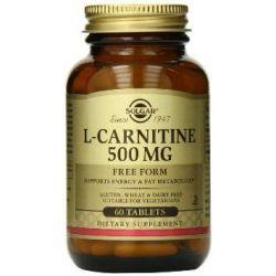 L-Carnitina 500mg - 60 Tabletas