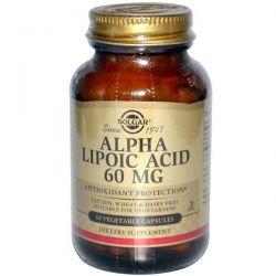 Ácido Alfa Lipóico 60mg - 60 Cápsulas vegetales