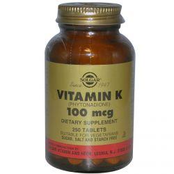 Vitamina K 100mg - 100 tabs