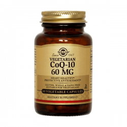Coenzima Q10 60mg - 60 cápsulas vegetales