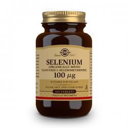 Selenium 100 100mcg - 100 tabs