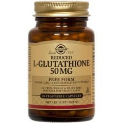Reduced L Glutatión 50mg - 30 Vcaps