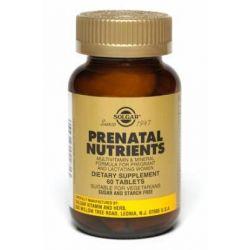 Prenatal Nutrients 120 Tabs       [Solgar]