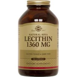 Lecitina de Soja 1360mg - 100 softgels