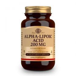 Ácido Alfa Lipoico 200mg - 50 Cápsulas Vegetales