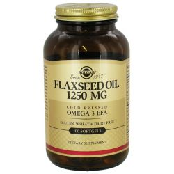 Flaxseed Oil 1250mg - 100 Softgels