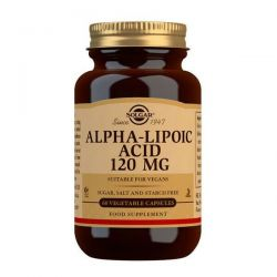 Ácido Alfa Lipoico 120mg - 60 Vcapsules