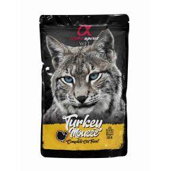 Wet Cat Pouch Mousse de Pavo 85 gr