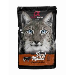 Wet Cat Pouch Mousse de Ternera 85 gr