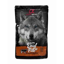 Wet Dog Pouch Pate de Ternera 100 gr (24 uds)