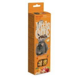 Sticks Hamsters. Ratas… con frutas y nueces 2x60g