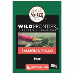 Cat Wet Pouch Salmon y Pollo 85gr (24uds)