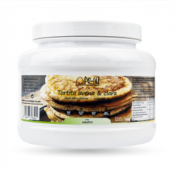 Oatmeal and egg white pancakes - 500g