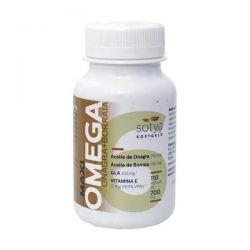 Maxi Omega Onagra + Borraja 700mg - 110 Softgels