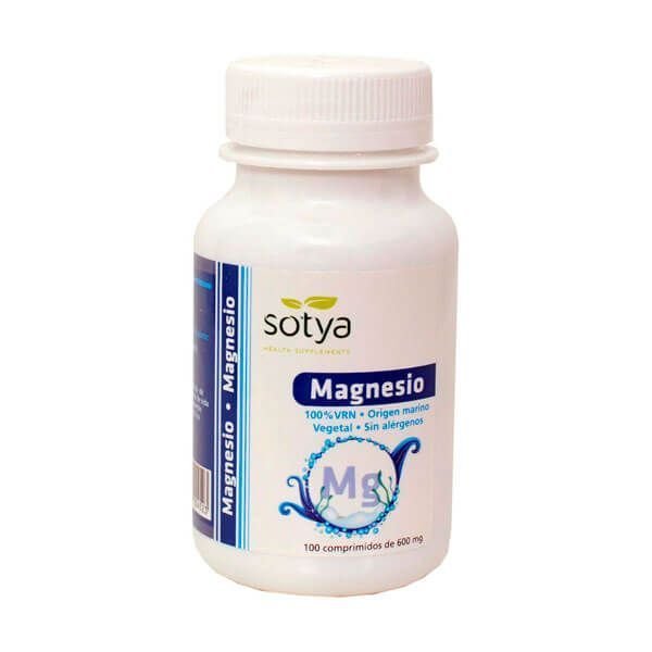 Magnesio 600mg - 100 Tabletas