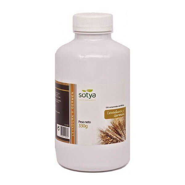 Levadura y Germen 600mg - 550 Tabletas