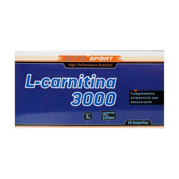 L-Carnitina 3000mg - 10 Viales