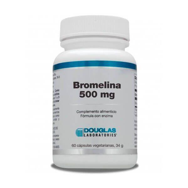 Bromelina 500mg - 60 Cápsulas