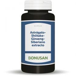 astrágalo-shiitake-ginseng siberiano 90 caps
