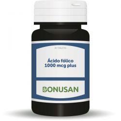ácido fólico plus 1.000mcg. 90 comp