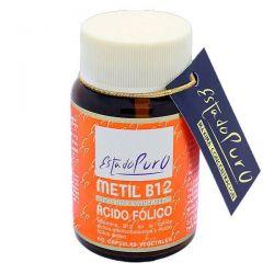 Estado Puro Metil B12 Ácido Fólico - 60 Cápsulas