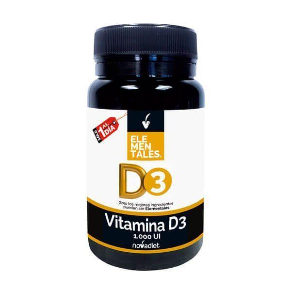 Vitamina D3 1.000 UI - 120 Tabletas