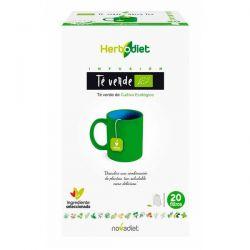 Té Verde Ecodiet de 20 bolsitas de la marca Novadiet (Infusiones y tisanas)