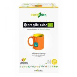 Manzanilla Ecodiet envase de 20 bolsitas de Novadiet (Infusiones y tisanas)