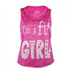 Camiseta Tirantes Fit Girl Elastic-Dry