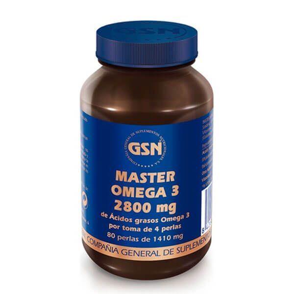 Master Omega 3 2800mg - 80 Softgels