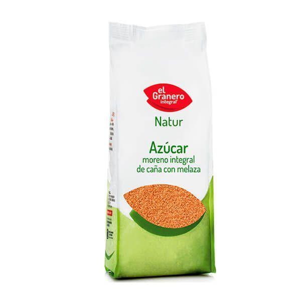 Azúcar Moreno Integral de Caña con Melaza - 1 Kg