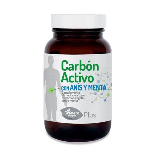 Carbón Activo 870mg - 90 Softgels