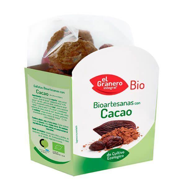Galletas Artesanas con Chocolate Bio - 220g