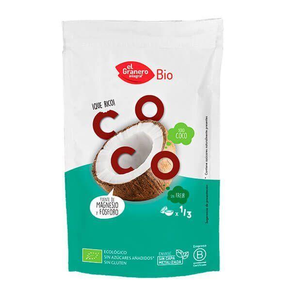 Copos de Coco Tostados Snack Bio - 80g