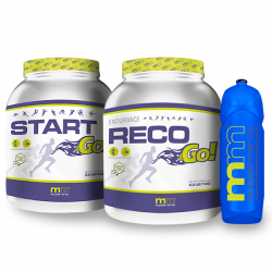 Pack Start &Go y  Reco &Go + Bidón GRATIS de MM Supplements
