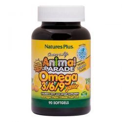 Animal Parade Omega 3-6-9 Junior - 90 Softgels