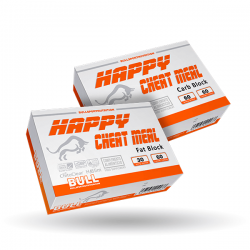 Happy Cheat Meal Fat Block - 60 Cápsulas