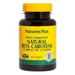 Natural beta carotene - 90 softgels