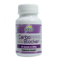 Carbo Blocker de 90 cápsulas del fabricante Sotya Health Supplements (Bloqueadores de Carbohidratos)