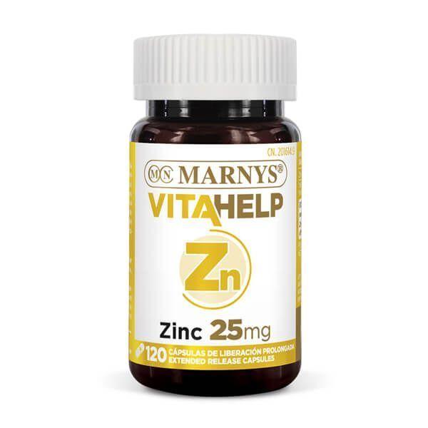 Vitahelp Zinc 25mg - 120 Cápsulas
