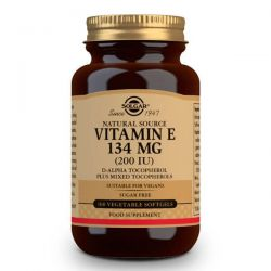 Vitamin e 200 ui 134mg - 50 softgels