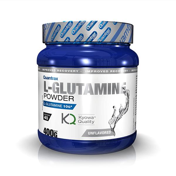 L-Glutamina Kyowa de 400g de Quamtrax