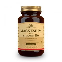 Magnesio + Vitamina B6 - 100 Tabletas